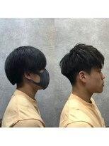 セブン ヘア ワークス(Seven Hair Works)[カットベーシック]2ブロックショートスタイル