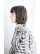 吉祥寺3分/ウォーターフォール毛先パーマ黒髪ことりベージュ/104
