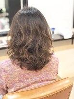 エトネ ヘアーサロン 仙台駅前(eTONe hair salon)【eTONe】25歳からの大人ウェーブ