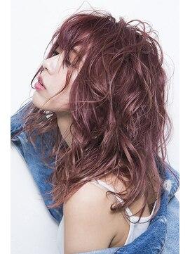 ミエルヘアービジュー(miel hair bijoux)【miel hair bijoux】ラフカール☆ミディ