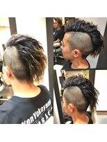 オムヘアーツー (HOMME HAIR 2)Kjstyle × ツイストパーマ hommehair2nd 櫻井