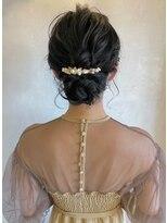 ベルビアンカ(Belle BIANCA)Belle BIANCA 結婚式やお出かけに♪シニヨンアレンジ by Orie