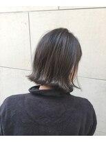 ヘアーデザイン アコースティック(Hair Design ACOUSTIC)透明感アップボブ