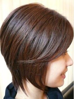 ヘアーフェイヴァリット(Hair Favorite)の写真/30代以上で長く通われるお客様多数!落ち着けるプライベート空間と女性限定で安心できると人気のサロン♪
