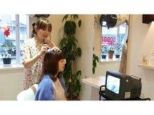 美容室亜美香のご来店からお見送りまでをご紹介します!