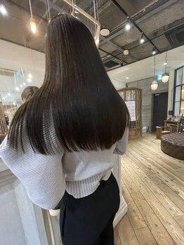 マッシュ abeno店(MASHU)の写真/一人一人のご要望に沿えるような豊富なストレートメニューを取り揃え◎MASHUの高い技術で自信のもてる髪に!