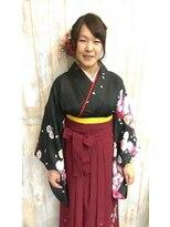 卒業式メモリアル袴スタイル