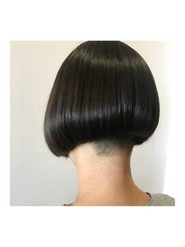 ヘアデザイン ダブル(hair design Double)刈り上げ前下がりボブ★