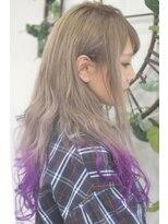 ヘアーサロン エール 原宿(hair salon ailes)(ailes原宿)style377 デザインカラー☆グレープグラデ