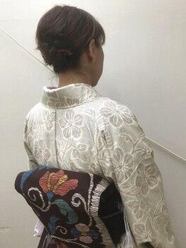 テッツ(TETZ)の写真/カジュアルな着物を着てランチや鎌倉を観光するのも◎いつもと違う気分でお出掛けしてみては…?