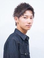 ベンケイ(HAIR AVENUE benkei)【校則OKツーブロックなし】ベリーショートウルフレイヤー