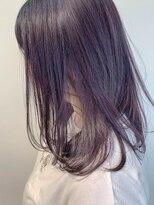 テトヘアー(teto hair)ラベンダーアッシュ、ブリーチ、アッシュブラウン、パープル