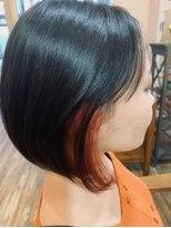 ヘアスペース ルーツ(Hair space Roots)ナチュラルボブ