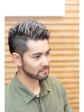 ヘアーメイク ダンス(hair make DANCE)IBカット ブリーチ シルバーグレージュ