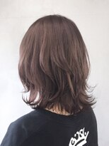 アルバム シブヤ(ALBUM SHIBUYA)スモーキーピンクウルフレイヤー_くびれミディ_ba151164