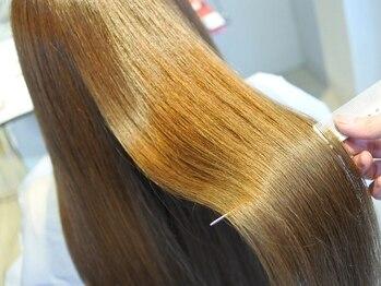 ヘアーアンドビューティストーリア 蒲田店(hair beauty STORIA)の写真/『今話題のサイエンスアクア』と高濃度炭酸かけ流しで髪質改善。回数を重ねるごとにツヤ感がより増します★