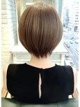【絶対に頭の形がきれいになる】 大人可愛い小顔ショートヘア