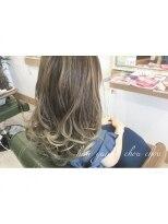 ヘアーガーデン シュシュ(hair garden chou chou)【外国人風カラー】ブルーグレージュ