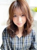 アグ ヘアー ドレス 喜久田店(Agu hair dress)《Agu hair》大人かわいい愛されゆるふわウェーブ