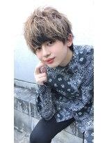 【NEXT shizuoka 竹田】マッシュウルフ×インナーカラー