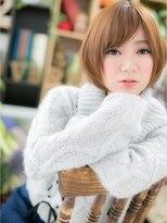 *+COVER HAIR+*…肌質きらり☆ベージュ×ボブa