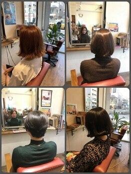 ヘア デザイン スタイリー(Hair Design stylee)の写真/貴女の綺麗を応援☆大人女性ならではのお悩みもベテランstylistにお任せ!一度通ったらずっと通いたくなる♪