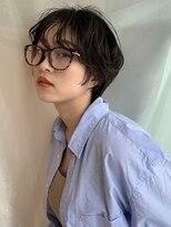 イトシテ【 マニッシュ × ショートパーマ 】浅野美紀