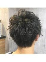 オーシャン(OCEANS)黒髪でもニュアンスパーマでモテる髪型☆