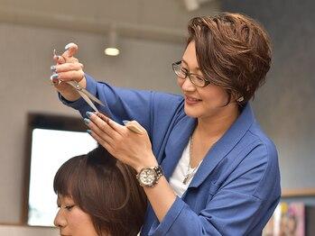 ヘアデザイン イルカ(Hair Design ilkA...)の写真/毎日忙しいママを全力で応援!お子様同伴OKサロン☆他のお客様に気兼ねなく過ごせる♪親子でヘアチェンジ☆