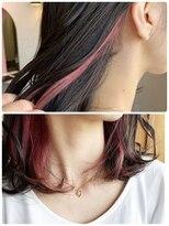 ルーチェ ヘアサロン(Luce hair salon)インナーカラー×ボブ