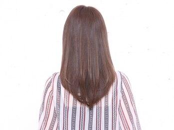 ティエル(TieLu)の写真/≪ALORB取扱いサロン≫気になる髪のダメージを高濃度補修!1本1本の毛先迄美しいうる艶髪に♪仕上り&モチ◎