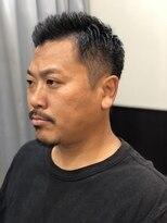 バーバーサロン カズヘア(BARBER SALON KAZU HAIR)男の無骨ショート
