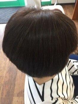 モデスト(modesto)の写真/【新規限定☆艶HMハーブマジックカラー¥7425→¥6875~】植物由来成分が毛髪を補修◎色持ちをUPさせます。