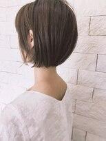 ヘアーガーデンロルド(hair garden Rold)透明感グレーアッシュボブ