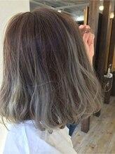 リラクサー ヘアー ナチュラル(Relaxer hair Natural)グラデーションカラー