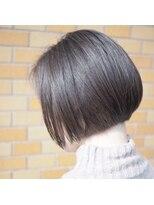 ノエル ヘアー アトリエ(Noele hair atelier)あごライン×ミニボブ×グレージュ×ハイライト