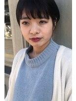 ヘアーアイスカルテット(HAIR ICI QUARTET)女の子らしさを残したショートスタイル