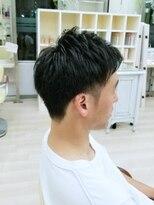 ハーフバックス 多摩境店(HAIR STUDIO HALF BACKS×1/2)刈り上げツーブロスタイル