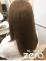 ヘアーメイクゼロ 坂戸駅前店(hairmake zero)メルティーブラウン
