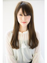 リル ヘアーデザイン(Rire hair design)【Rire-リル銀座-】大人前髪☆潤艶ロング☆