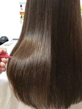 ジャガラ 千葉中央駅店(JAGARA)の写真/うねりやすい季節にオススメなJAGARAの美髪ストレート!潤いとツヤのある髪でストレスのない髪に♪【千葉】