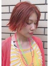 ベック(BECK)夏ミカン色、キュートなオレンジヘアー