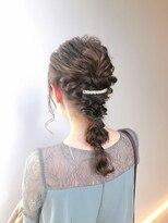 LEMO ◇ 結婚式 お呼ばれ 編みおろし