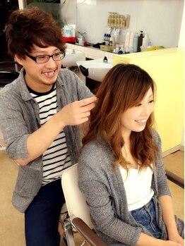 ヘアースタジオ キャズ(Hair Studio Ca'z)の写真/【山科/御陵】サロン帰りの仕上がりを長続きするために…。意外と知らないケア方法はCa'zで賢く情報をGET♪