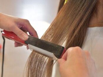 スペースアール(space R)の写真/話題の髪質改善☆髪内部から表面までの変化を実感!資生堂サブリミックで今まで以上の上質トリートメントを*