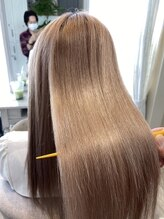 ブレスヘアーデザイン(BLESS HAIR DESIGN)ブリーチ毛でも出来る縮毛矯正【美革ストレート】