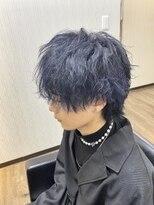 マッシュウルフ ブルーブラック☆
