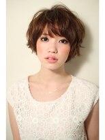 ジョエミバイアンアミ(joemi by Un ami)【joemi】目元の前髪がポイント☆品のあるショートボブ(大島)