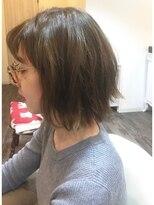 ハロ (Halo hair design)外ハネボブ