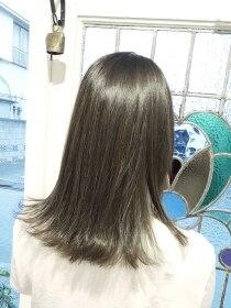 ローグ ヘアー 金町店(Rogue HAIR)ローグヘアー 金町【高 和宏】デザインカラー外ハネマットグレー